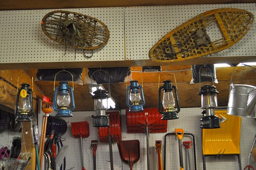 Lanterns, Shovels, and Snowshoes