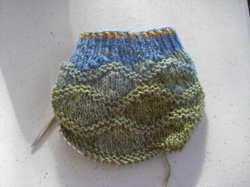 Wavy Sock