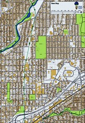 the district's street grid (courtesy AIA)