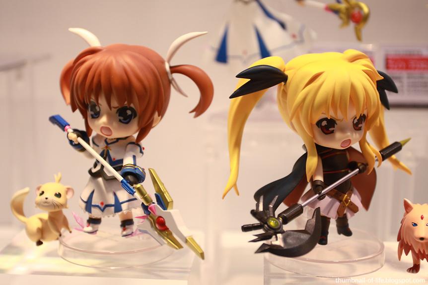 Nanoha & Fate Nendoroid