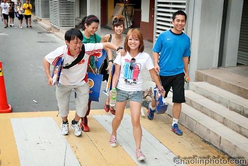 Femes Bloggers at Nuffnang Tiger Run