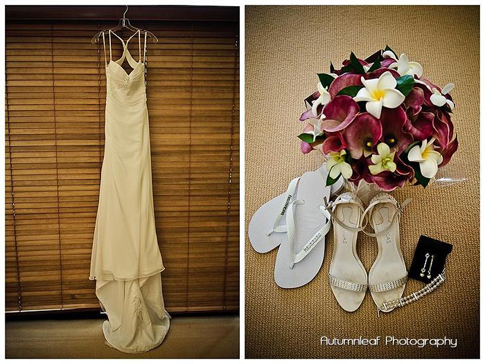 Lea and Todd's Wedding - Bride Prep Details