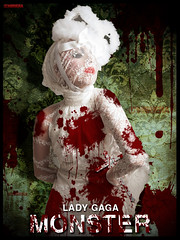 Monster -T.F.M. [Lady GaGa] (Nii Riera) Tags: monster lady fame gaga