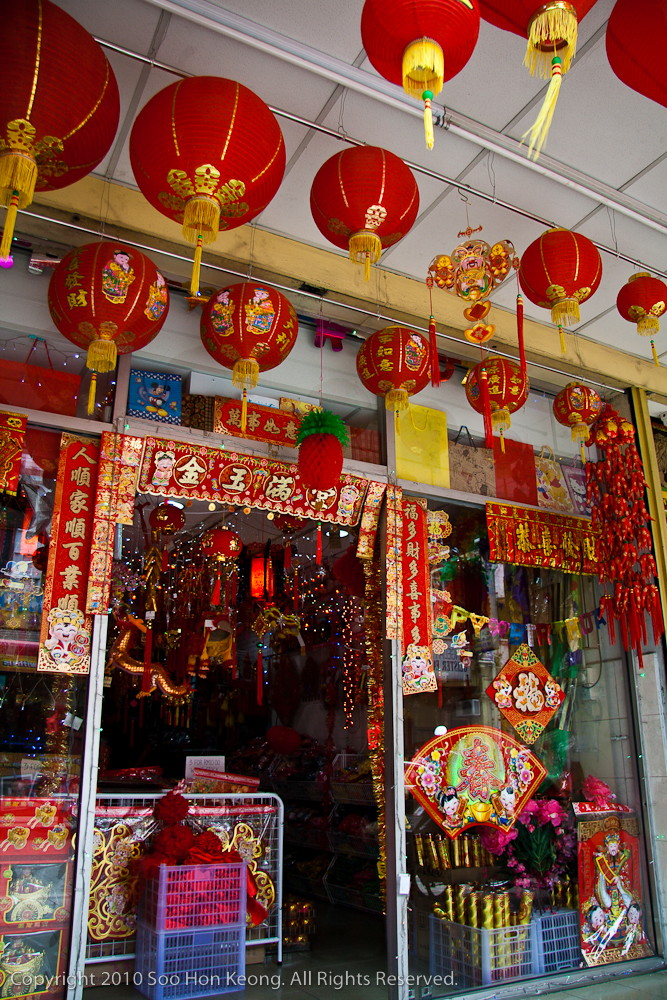 Chinese New Year Shopping @ Petaling Street, KL, Malaysia