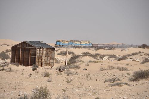 Mauritanian Iron Ore Train