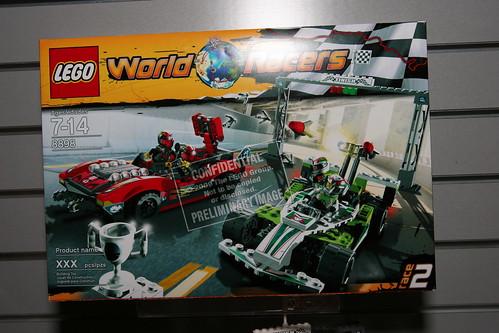 LEGO Toy Fair 2010 - World Racers - 8898 Race Cars - 1 - a
