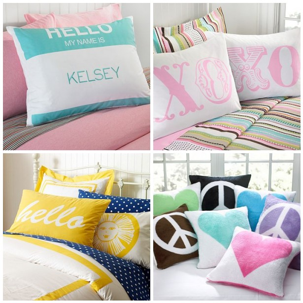 PB Teen Pillows / Feb 2010