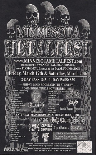 03/19&20/04 MN MetalFest II @ Minneapolis, MN (Flyer)