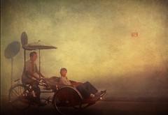 Malaysia .. Rickshaw (Nick Kenrick..) Tags: texture please tag memories georgetown malaysia only penang rickshaw invite legacy memoriesbook zedzap redmatrix magicunicornverybest magicunicornmasterpiece magiayfotografia thelittlebookoftreasures