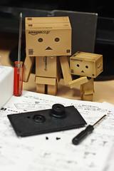 Don't worry! ( Act.3) (Ali Tse) Tags: camera toy toys amazon limited danbo tslr  revoltech jfigure danboard  gakkenflex