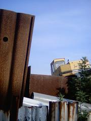 【写真】Construction site (DCC Leica M3)