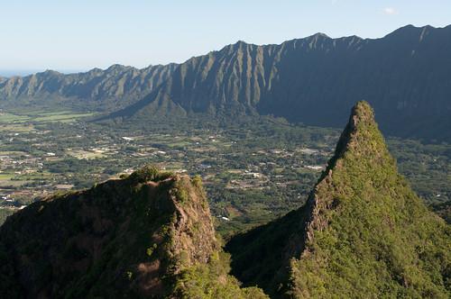 Oahu's Olomana Trail