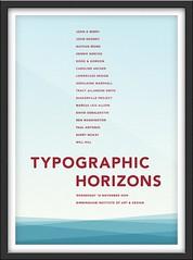 Typographic Horizons Poster (matthewgrocott) Tags: smile poster
