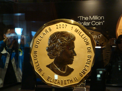 Royal Canadian Mint Pavilion - Million Dollar Coin - heads