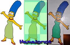 Como hacer Marge Simpson en Hama Beads : El proceso