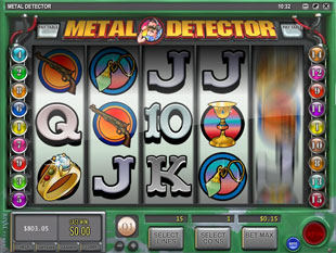 Metal Detector slot game online review