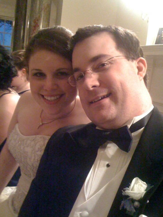 The Bride(@sfeuer) and Groom(me)