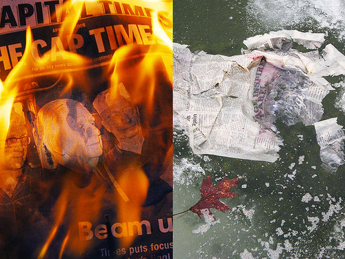 Fire and Ice: Which Will It Be for Print Journalism As We Know It?