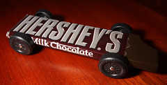 Hershey's Milk Chocolate - Pinewood Derby Car (Shook Photos) Tags: car racecar chocolate boyscouts hersheys scouts vehicle hershey candybar derby chocolatebar scouting pinewood cubscouts pinewoodderby chocolatecandy pinewoodderbycars hersheysmilkchocolate pinewoodderbycar