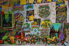 Turtle Power! (thisisbrianfisher) Tags: green toy kevin comic play display action turtle ninja brian 1988 retro collection peter turtles 80s figure fisher 1991 1992 1989 mutant leonardo eastman michelangelo raphael yoyo laird collect 1990 90s donatello tmnt teenage brianfisher