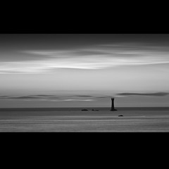 hanois (s k o o v) Tags: longexposure sea bw lighthouse clouds guernsey hanois 100mmmacro vle nd8 nd110 bwfilters canon100mmmacro28 skoov