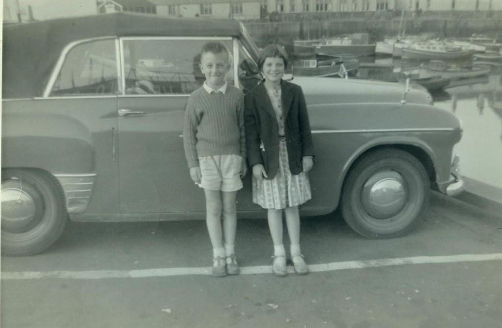 Marlene and Jim Watt on holiday, 1960.