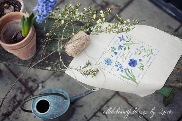 Blue Flowers (Kazuko Aoki)