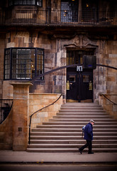 glasgow school of art - cr mackintosh, glasow school of art, historic building, old man on way home from work, march 2010 (abbozzo) Tags: art scotland glasgow glasgowuniversity renniemackintosh charlesrenniemackintosh glasgowschoolofart listedbuilding renfrewstreet historicbuilding schoolofart gillespiekiddcoia scottisharchitecture glasgowcity crmackintosh mackintoshbuilding glasgowarchitecture mackintoshschoolofarchitecture abbozzo scottishbuilding glasgowbuilding garnethillglasgow glasgowschoolofartmackintosh abbozzoarchitects honeymanandkeppie renfrewstreetglasgow schoolofartglasgow mackintosharchitecture listedbuildingglasgow listedbuildingmackintosh glasgowhistoricbuilding
