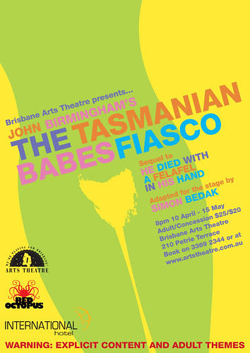 Tasmanian Babes Fiasco Poster