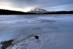 Two Jack Lake (Ming Ho's Photography) Tags: mount banff rundle