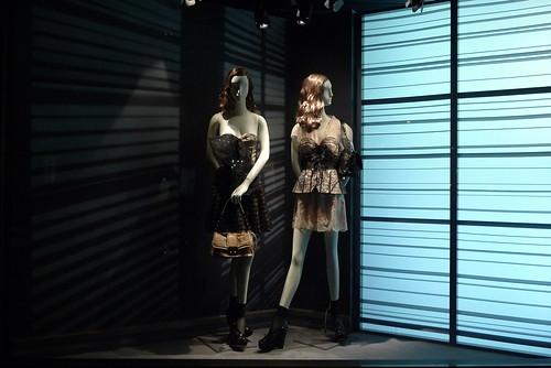 Vitrines Dior - Paris, mars 2010