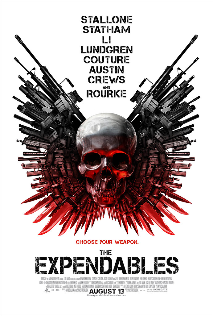 The Expendables poster 2