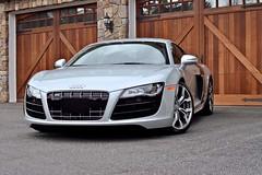 Audi R8 V10 (Mike V) Tags: audi v10 r8 silveraudi