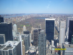 Central Park, New York from the Rockafeller Tower (woody3012) Tags: new york centralpark rockafellercentre