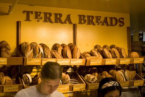 Terra Breads at Granville Market