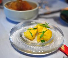 Mango-Anchovy Ravioli
