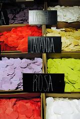 hand-made (unlimitedrefills) Tags: red white verde green blanco rose yellow petals soap rojo nikon colorful purple handmade artesanal magenta rosa lila amarillo vermell blanc groc verd sabo lavanda jabon petalos d3000