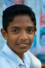 school boy in Alleppey