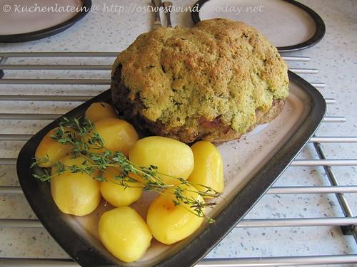 Kräuter-Lammkeule aus dem Ofen