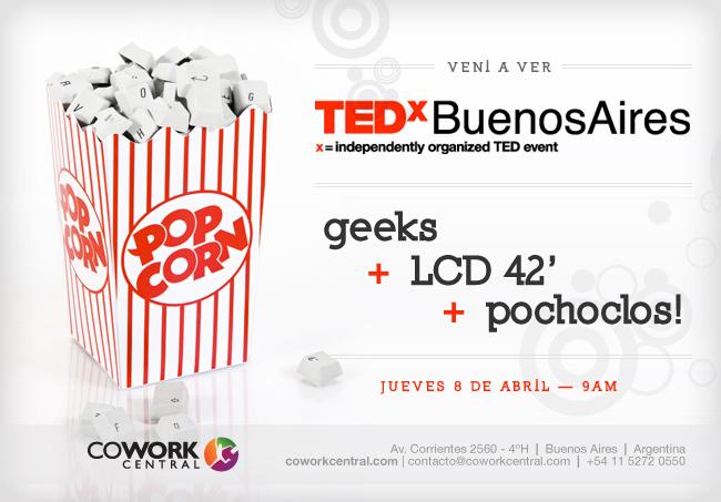TEDx Buenos Aires en Cowork Central