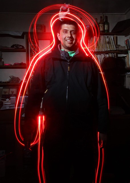 Halo Effect - Neerav Bhatt - Light Painting