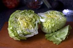 i love iceberg lettuce