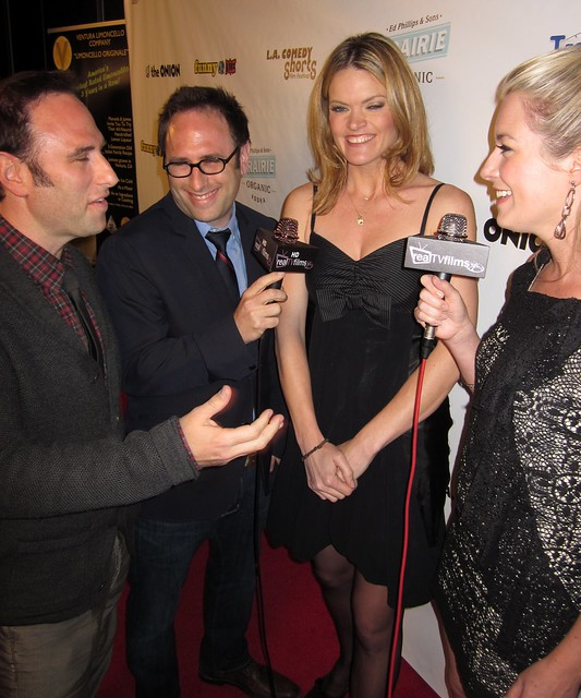 Randy Sklar, Jason Sklar, Missi Pyle, Tara Hunnewell, LA Comedy Shorts Awards Party