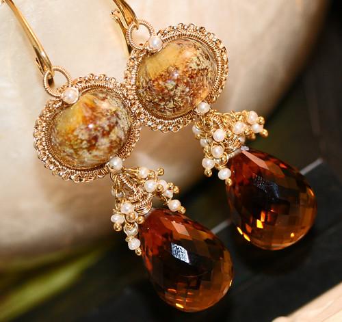The GOLDIE LOCKS Earrings