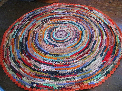 The Lollipop Circled Rug