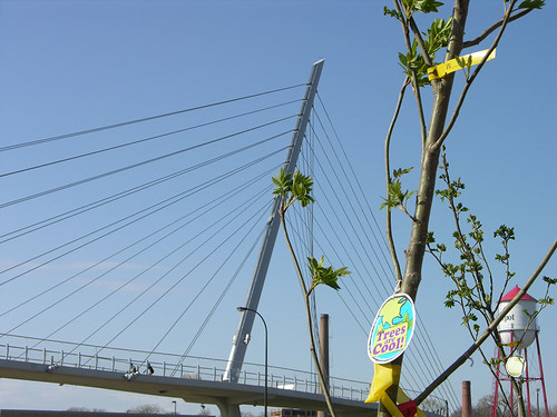 2011 Arbor Day Greenway trees are cool