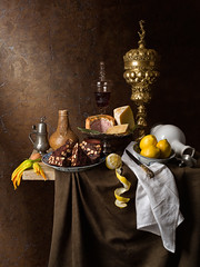 Pride before the Fall - Still Life (kevsyd) Tags: bellarmine willemkalf 645d kevinbest dutchstilllife