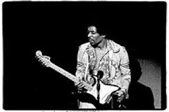 Jimi Hendrix at the Fillmore East