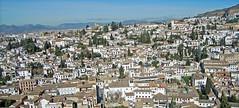 Panorama - Granada - Spain (cpcmollet) Tags: city espaa architecture landscape spain arquitectura nikon san europa europe view ciudad andalucia panoramica alhambra vista espagne barrio mirador albaicin nicols panormica vision:outdoor=099