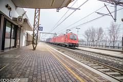 OBB 1216.003 E190.003 (D-Lab Photography) Tags: eisenbahn ferrovia railway treno train zug merci freight gemonadelfriuli udinetarvisio obb 1216 e190 taurus
